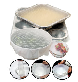 Norpro Sili-Stretch Bowl Covers, 2PCS