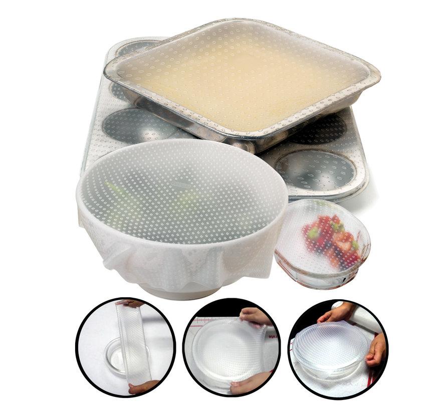 Sili-Stretch Bowl Covers, 2PCS