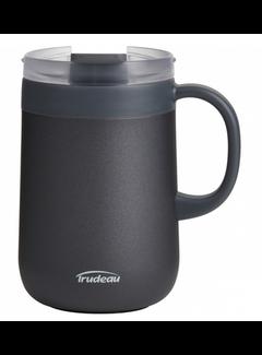 Trudeau Desktop S/S VAC Mug Black 16 oz