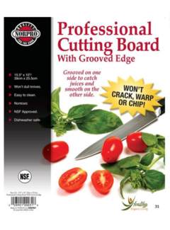 "Norpro 10""X15.5"" Cutting Board"