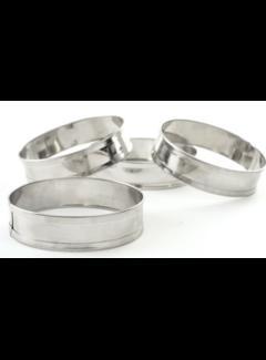 Norpro English Muffin Rings, Set of 4