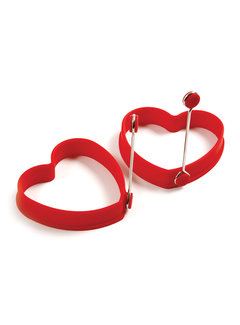 Norpro Heart Pancake/Egg Rings, 2PC