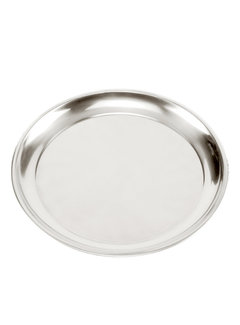 "Norpro 13.5"" Pizza Pan - Stainless Steel"