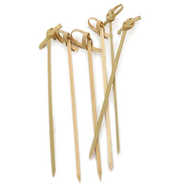 "RSVP Endurance® Bamboo Knot Picks – 4½"""
