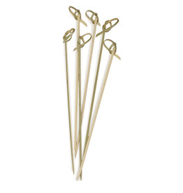"RSVP Endurance® Bamboo Appetizer Knot Picks – 6½"""