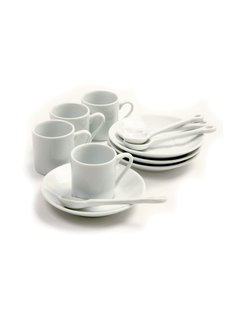 Norpro Demitasse Set- Service of 4 (Boxed)