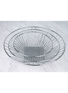 RSVP Endurance® 3-Tier Hanging Baskets, Chrome Wire