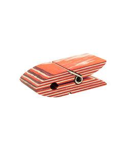 "Island Bamboo Recipe Card Holder Red Pakka 4"""