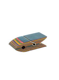 "Island Bamboo Recipe Card Rainbow Pakka 4"""