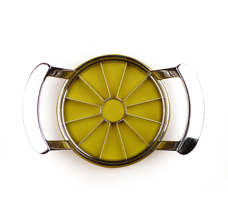 Jumbo Apple Slicer w/ Serrated Blades and Plastic Cover