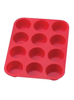 Mrs. Anderson's Muffin Pan Silicone 12 Cup