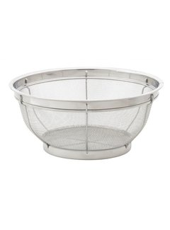 Harold Import Company Inc. Stainless Steel Mesh Colander 11""