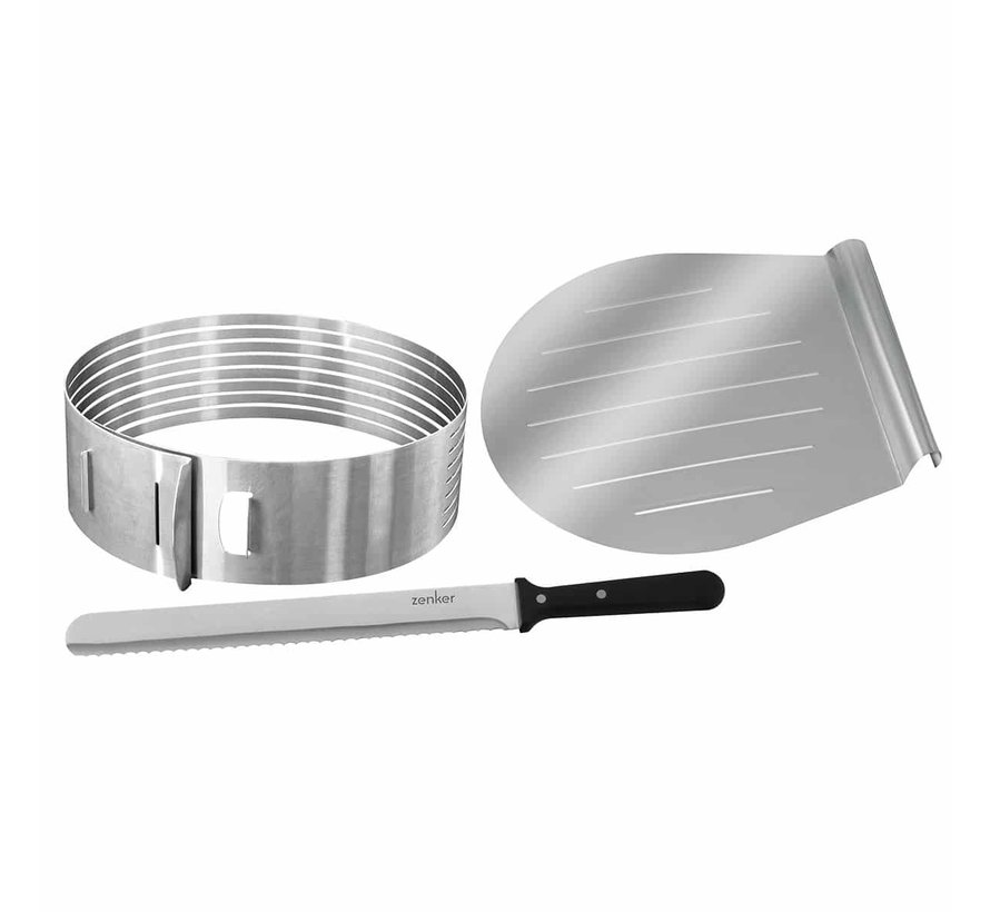 Layer Cake Slicer, Stainless Steel