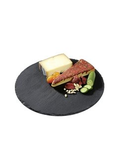 "Cilio Slate Serving Board - 11"" Round"