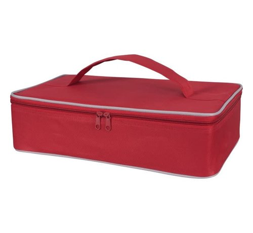 Harold Import Company Inc. Casserole Carrier Red