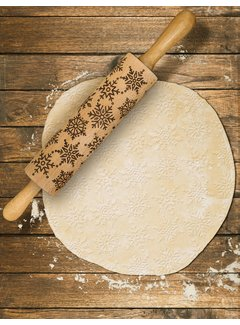 Mrs. Anderson's Snowflake Rolling Pin