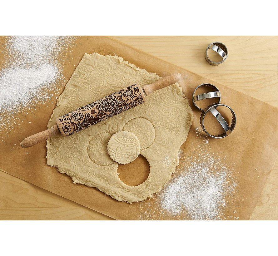 Snowflake Rolling Pin