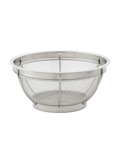 Harold Import Company Inc. Stainless Steel Mesh Colander 9""