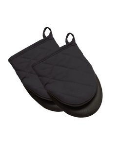Harold Import Company Inc. Mini Mitt Black Set/2