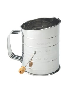 Mrs. Anderson's Sifter 3 Cup Crank S/S