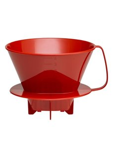 Harold Import Company Inc. Filter Cone - #4  Red