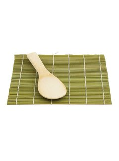 Helen's Asian Kitchen Sushi Mat With Paddle