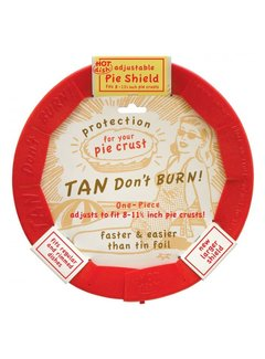 Talisman Designs Silicone Pie Shield Adjustable 10""