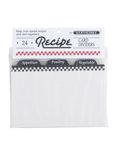 Fletcher's Mill Recipe Card Dividers 4X6
