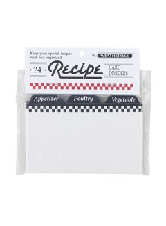 "Fletcher's Mill Recipe Card Dividers 3"" x 5"""