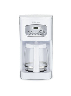 Cuisinart 12-Cup Programmable Coffeemaker (White)