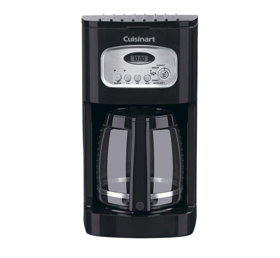 12-Cup Programmable Coffeemaker (Black)
