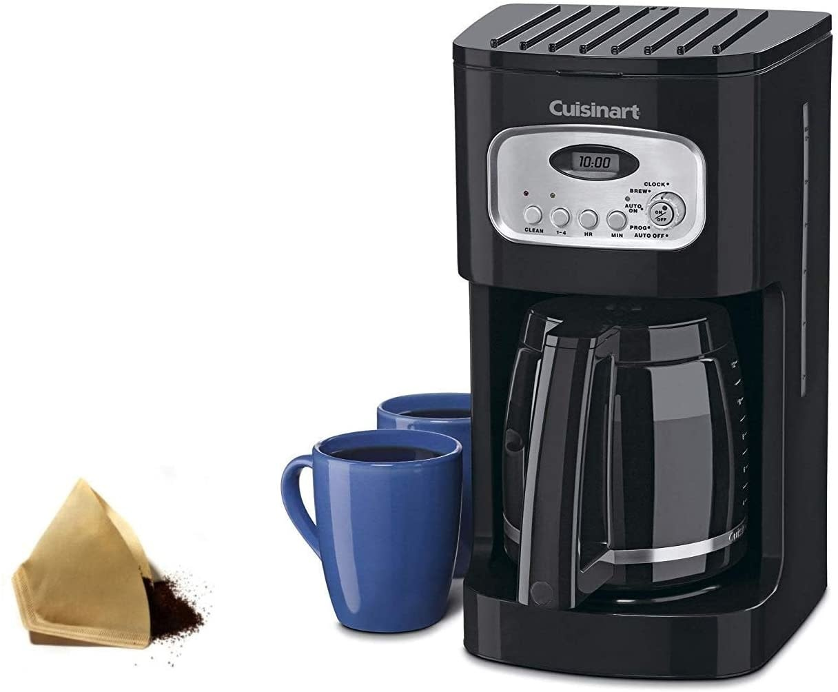 Cuisinart 12-Cup Programmable Coffeemaker (Black) - Spoons N Spice