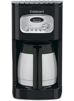 Cuisinart 10-Cup Thermal Programmable Coffeemaker (Black)