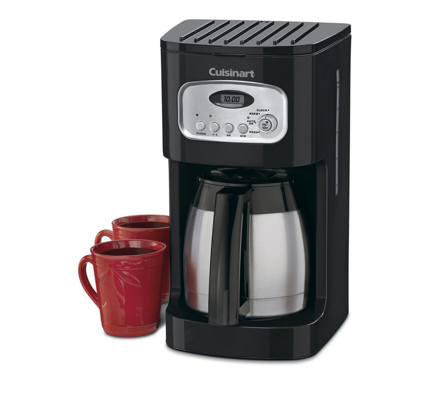 10-Cup Thermal Programmable Coffeemaker (Black)