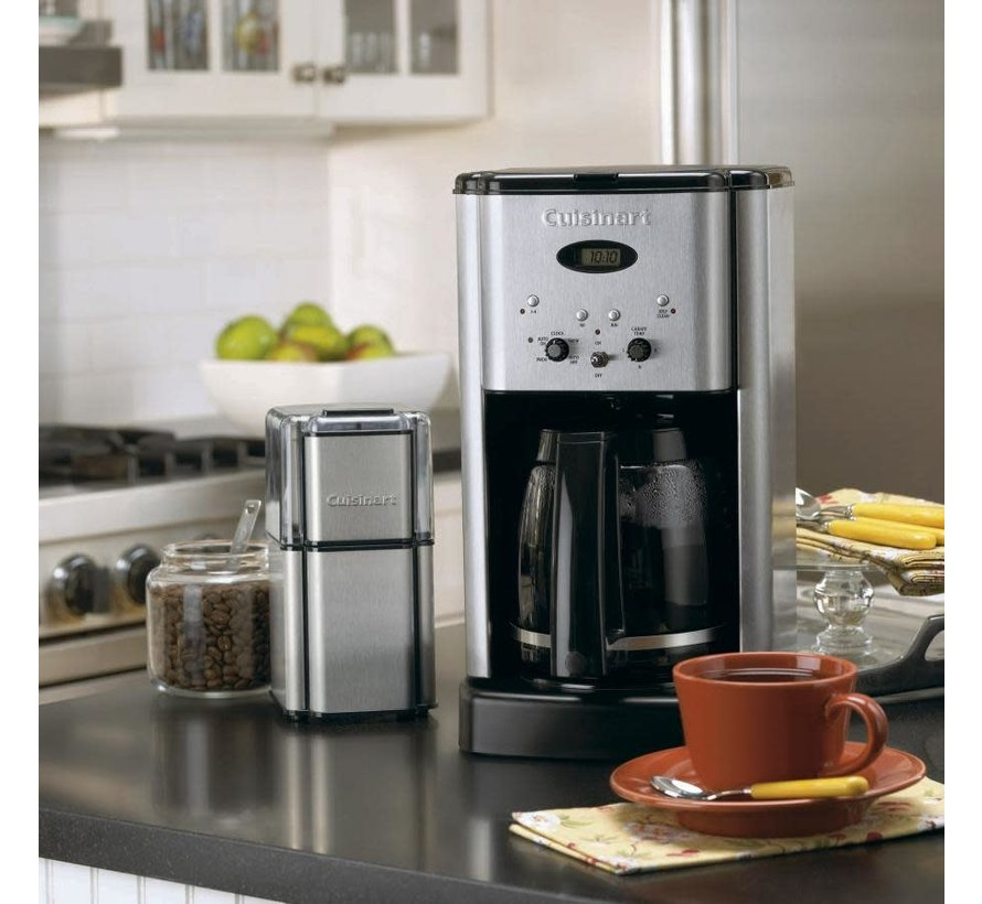Brew Central 12-Cup Programmable Coffeemaker (Stainless)