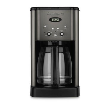 Cuisinart Brew Central 12-Cup Programmable Coffeemaker (Black Stainless)