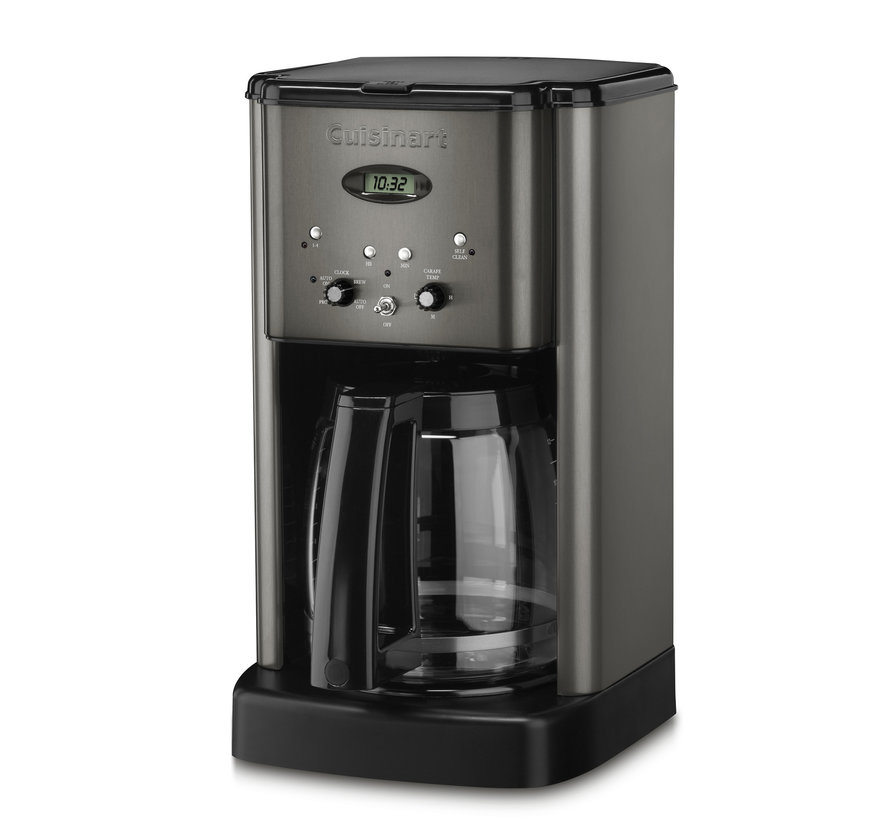Brew Central 12-Cup Programmable Coffeemaker (Black Stainless)