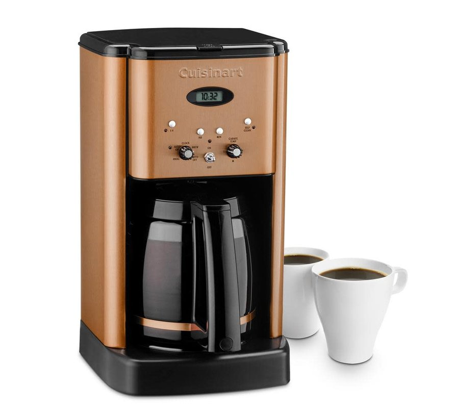 Brew Central 12-Cup Programmable Coffeemaker (Copper)
