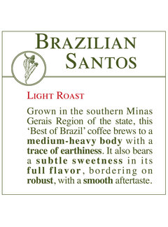 Fresh Roasted Coffee - Brazilian Santos
