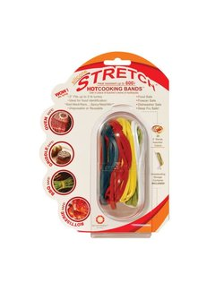 Stretch Silicone Cooking Bands Set