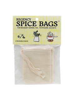 Regency Spice Bags (Set 4)