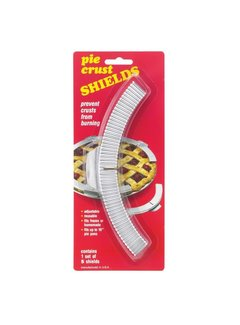 Terrell Pie Crust Shields - Set of 5