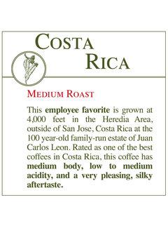 Fresh Roasted Coffee - Costa Rican
