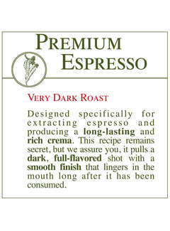 Fresh Roasted Coffee - Premium Espresso