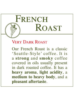 Fresh Roasted Coffee - French Roast