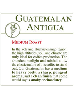 Fresh Roasted Coffee - Guatemalan