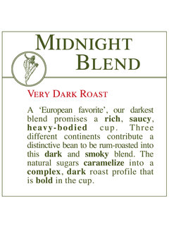 Fresh Roasted Coffee - Midnight Blend