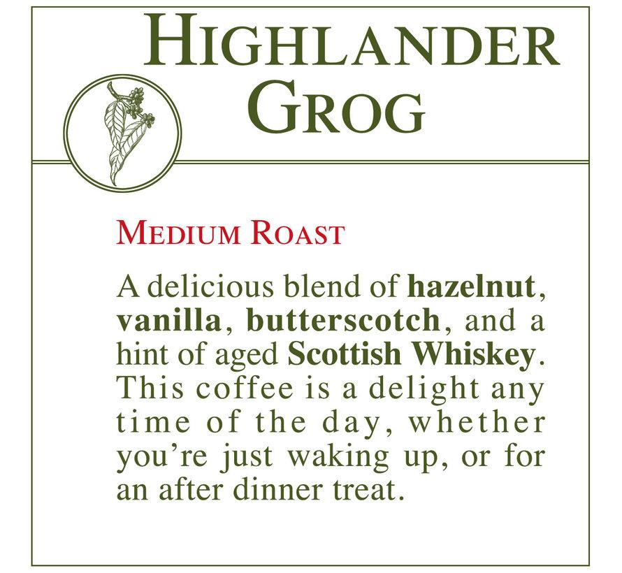 Fresh Roasted Coffee - Highlander Grog
