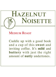 Fresh Roasted Coffee - Hazelnut