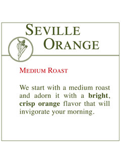 Fresh Roasted Coffee - Seville Orange
